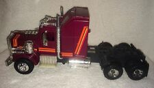 "Mask Rhino Semi Truck Cab Vintage 13"" Toy 1985 Kenner Products Maroon Orange"