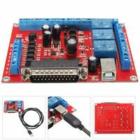 DIY CNC 6 Axis MACH3 Engraving Machine Interface Breakout Board USB PWM Spindle