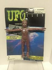 UFO Files - Arterian Captain Bendable Alien w Glow in the Dark Eyes