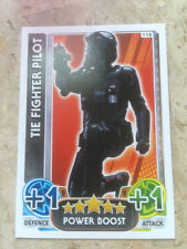 STAR WARS Force Awakens - Force Attax Trading Card #118 TIE Fighter Pilot