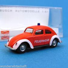 Busch H0 42717 VW 1200 Feuerwehr Brezel-Käfer HO 1:87 OVP Box