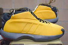 DS 2001 Adidas THE KOBE OG size 13 SUNSHINE Yellow Black LAKERS