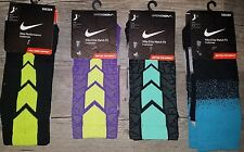 New Lot of 4 Nike Elite Mercurial Hypervenom Crew Soccer Socks Size 8-12 $80.00