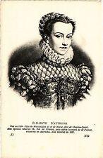 CPA Élisabeth D'Autriche Royalty Nobelty (314341)