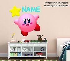 Personalized Kirby Wall Decal