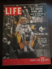 Life Magazine Space Pilot To Be Tests Safety Suit in Heat Chamber 1958 Newsstand