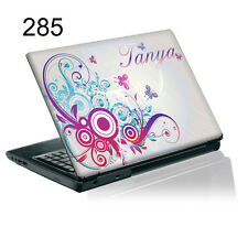 TaylorHe Personalized Laptop Decal Vinyl Skin Sticker With YOUR NAME P285