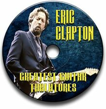 100+ OF ERIC CLAPTON BLUES ROCK TABS TABLATURE SONG BOOK SOFTWARE CD