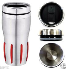 Insulated TRAVEL MUG Vacuum THERMAL Flask Coffee Tea Thermos Cup Drinks 14 Oz