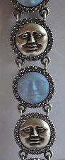 KIRKS FOLLY SEAVIEW MOON  ANTIQUE SILVER TONE BRACELET  TONE