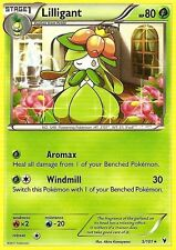 BW NOBLE VICTORIES POKEMON RARE CARD - LILLIGANT 5/101
