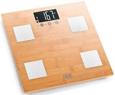 ADE Körperanalysewaage 150kg Glas Analysewaage Körperfettwaage Fitnesswaage