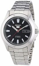 Seiko 5 SNKL09 Men's Stainless Steel Black Dial Day Date Automatic Watch