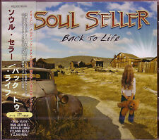 SOUL SELLER Back To Life + 3 Japan CD Oliver Hartman Italian Melodic Rock Metal