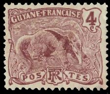 FRENCH GUIANA 53 (Mi51) - Giant Anteater (pa19405)