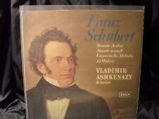 F. Schubert - Sonate A-dur etc. / Ashkenazy