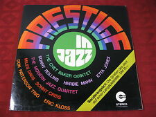 LP Jazz VARIOS ARTISTS Prestige in Jazz