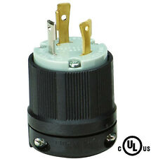 GENERATOR Power Locking,Twist Lock, L5-30P MALE PLUG 2P 3W,30A, 125V, Heavy Duty
