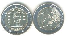 Belgien 2 Euro Gedenkmünze 2009 Louis Braille