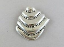 Sterling Silver Brooch Pendant TO-49 Taxco Mexico 24.8g [2206]