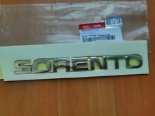 OEM Rear Decklid Hatch Emblem 'SORENTO' Badge for 11-14 Kia Sorento w/ Tracking.