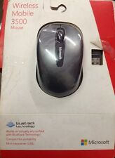 Genuine OEM Microsoft Wireless Mobile Mouse 3500 (Grey)