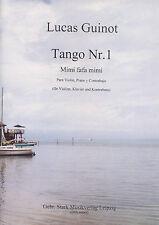 04002 Tango Nr. 1 für Violine, Klavier und Kontrabass aus Argentinien