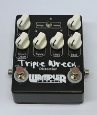 Hand-made pedals Triple Wreck Guitar Effect Pedal high gain distortion pedal