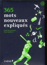 365 mots nouveaux expliqués Desalmand  Paul  Stalloni  Yves Occasion Livre