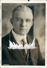 1920 North Carolina Governor Cameron Morrison Press Photo