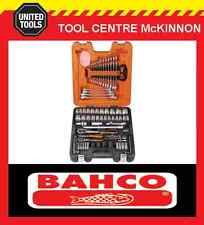 "BAHCO S87+7 94pce METRIC ¼"" & ½"" COMBINATION SOCKET & SPANNER SET"