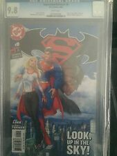 SUPERMAN/BATMAN  #9 CGC GRADED 9.8 -  KARA ZOR-EL, KRYPTO, WONDER WOMAN CAMEO !