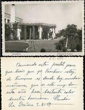 Tarjeta Postal La Bañeza. Albergue de Turismo. Ediciones ARRIBAS. Año 1950.