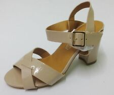 F10170- Ladies Spoton Synthetic Heeled Sandals 3 Colours- Great Price!