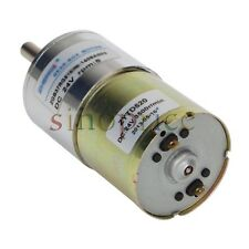 Reversible 5RPM DC 24V Geared-Motor High Torque Gear Box Electric Motor