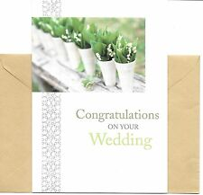 Congratulations On Your Wedding Hallmark DaySpring Greeting Card - Nature Theme