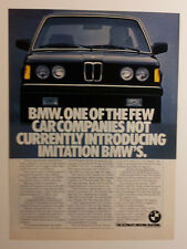 1982 BMW 320i Ad #2 - Must See !!