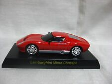 1:64 Kyosho Lamborghini Miura Concept Red Diecast Model Car