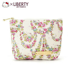 LIBERTY X Hello Kitty Tissue Pouch Green ❤ Sanrio Japan