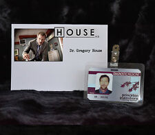 "TV SERIES HOUSE MD EXACT REPLICA COLLECTOR PROP ""GREGORY HOUSE"" HOSPITAL ID"
