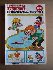 CORRIERE DEI PICCOLI n°29 1972 Le avventure di Gianconiglio  [G556]