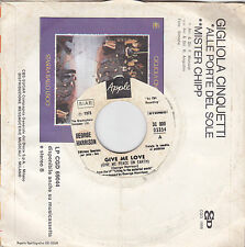 GEORGE HARRISON - give me love / miss o'dell 7""
