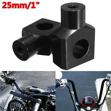 Riser supporti manubrio moto universaili custom cafe racer 25 mm