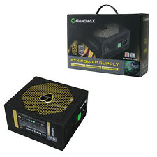 GameMax GM600G ATX PSU 600w Gold Modular APFC 90 Plus 14CM Fan power Supply