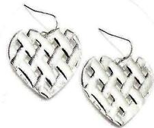 Avon Heart Woven Earrings