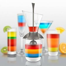 Final Touch Rainbow Cocktail Layering Tool Bartending Barware Mixed Drink Gift