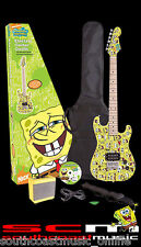 BRAND NEW IN BOX SPONGEBOB SQUAREPANTS 7/8 ELECTRIC GUITAR PACK WITH AMPLIFIER