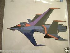 DANGUARD ACE FORCE FIVE FIGHTER PLANE  COMMANDER CROSS ANIME PRODUCTION CEL