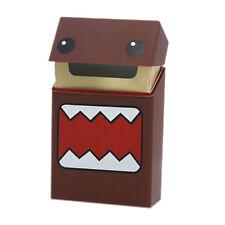 Étui à cigarettes zigarettenbox robot marron silicone flexible box taille L Boîte
