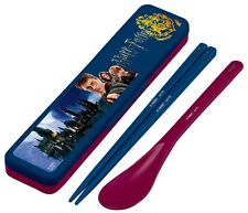 Harry Potter Portable Bento Cutlery Set Spoon Chopsticks with Case Made in Japan